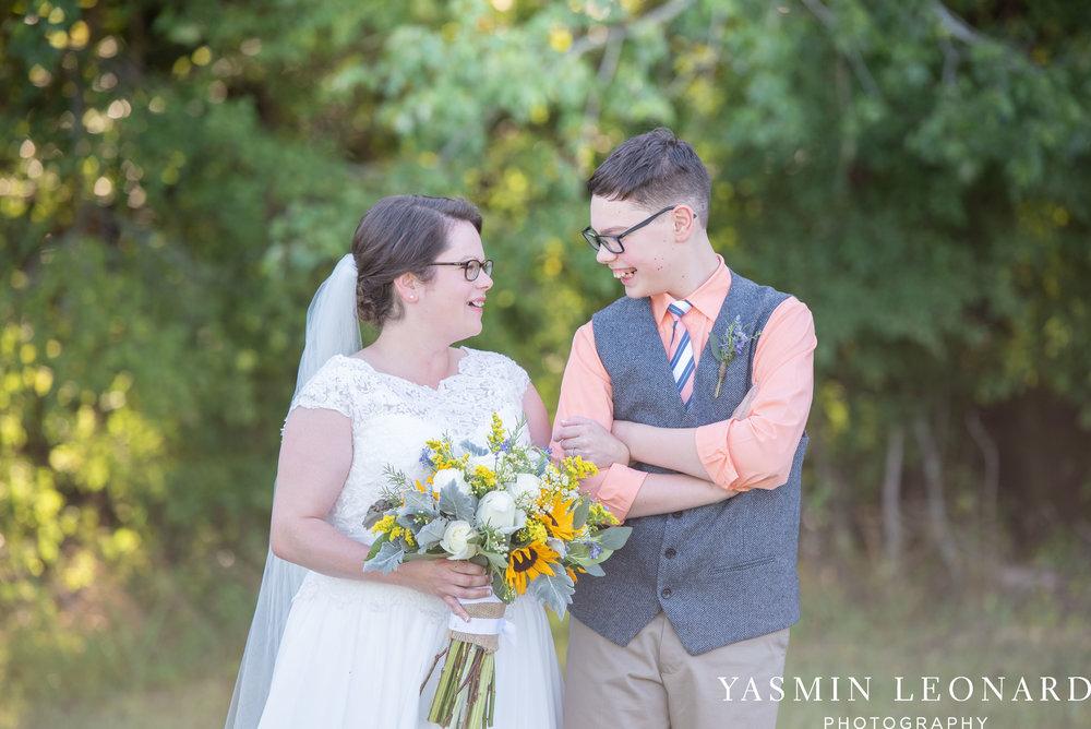 Patty and Matt - Sunflowers and Lemons - NC Wedding Photographer - Yasmin Leonard Photography-37.jpg