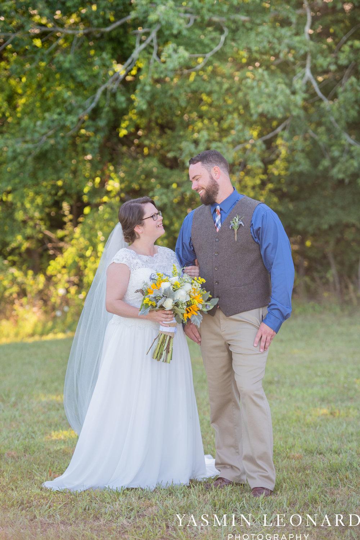 Patty and Matt - Sunflowers and Lemons - NC Wedding Photographer - Yasmin Leonard Photography-38.jpg