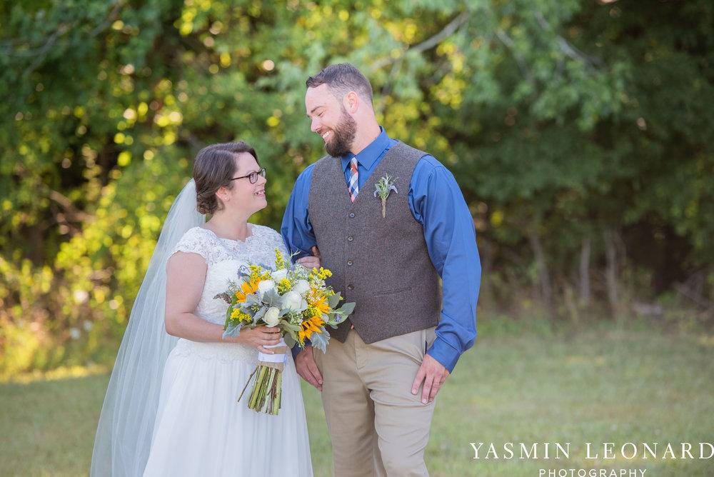 Patty and Matt - Sunflowers and Lemons - NC Wedding Photographer - Yasmin Leonard Photography-39.jpg
