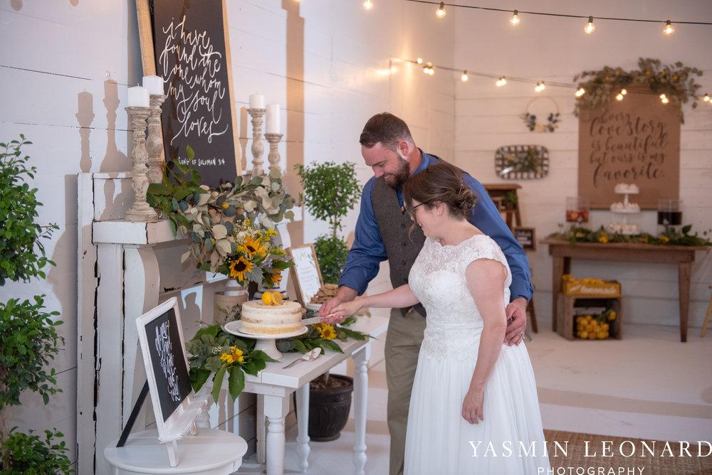 Patty and Matt - Sunflowers and Lemons - NC Wedding Photographer - Yasmin Leonard Photography-52.jpg
