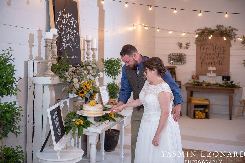 Patty and Matt - Sunflowers and Lemons - NC Wedding Photographer - Yasmin Leonard Photography-53.jpg