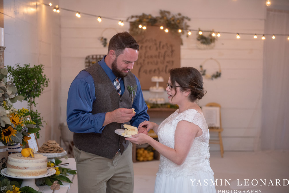 Patty and Matt - Sunflowers and Lemons - NC Wedding Photographer - Yasmin Leonard Photography-54.jpg