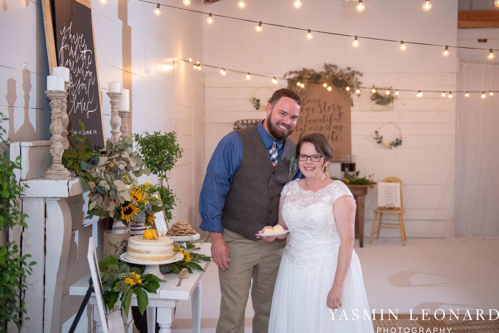 Patty and Matt - Sunflowers and Lemons - NC Wedding Photographer - Yasmin Leonard Photography-56.jpg