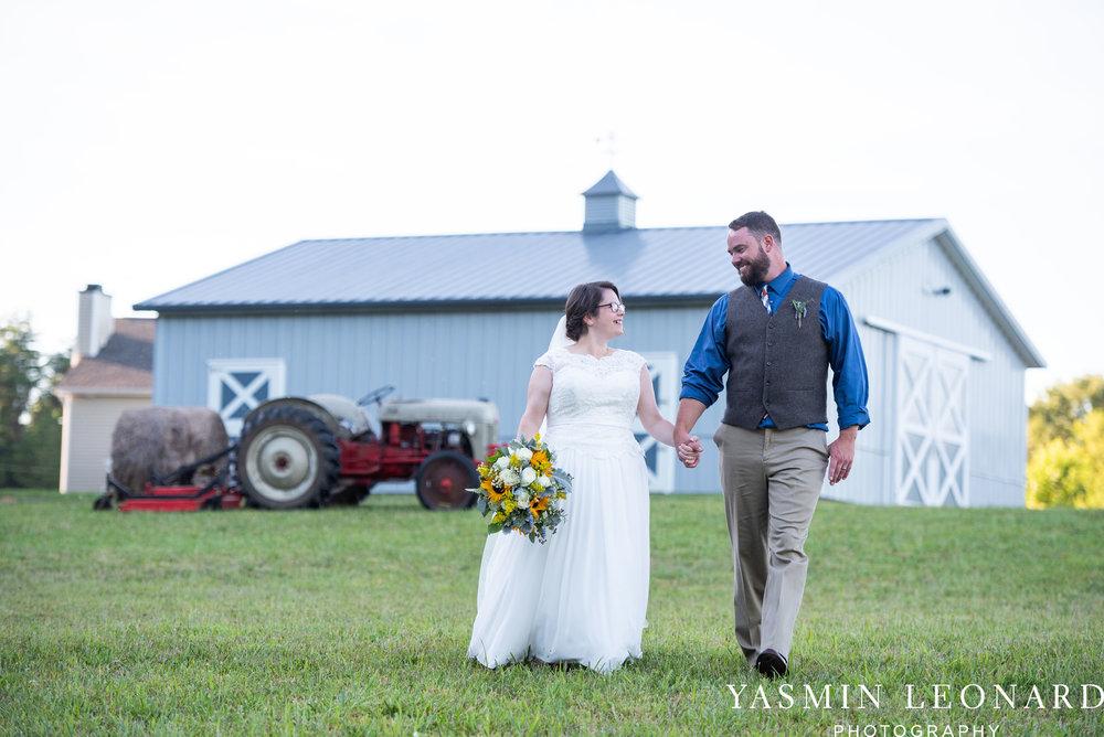 Patty and Matt - Sunflowers and Lemons - NC Wedding Photographer - Yasmin Leonard Photography-58.jpg