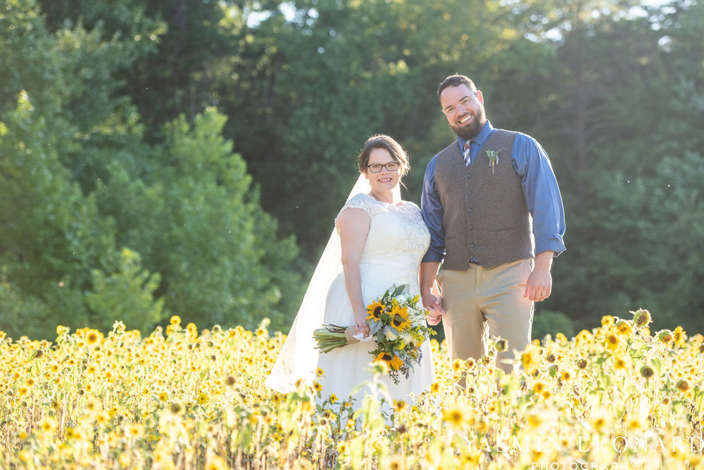 Patty and Matt - Sunflowers and Lemons - NC Wedding Photographer - Yasmin Leonard Photography-59.jpg