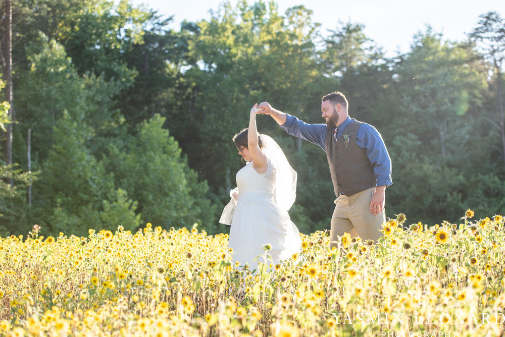 Patty and Matt - Sunflowers and Lemons - NC Wedding Photographer - Yasmin Leonard Photography-61.jpg