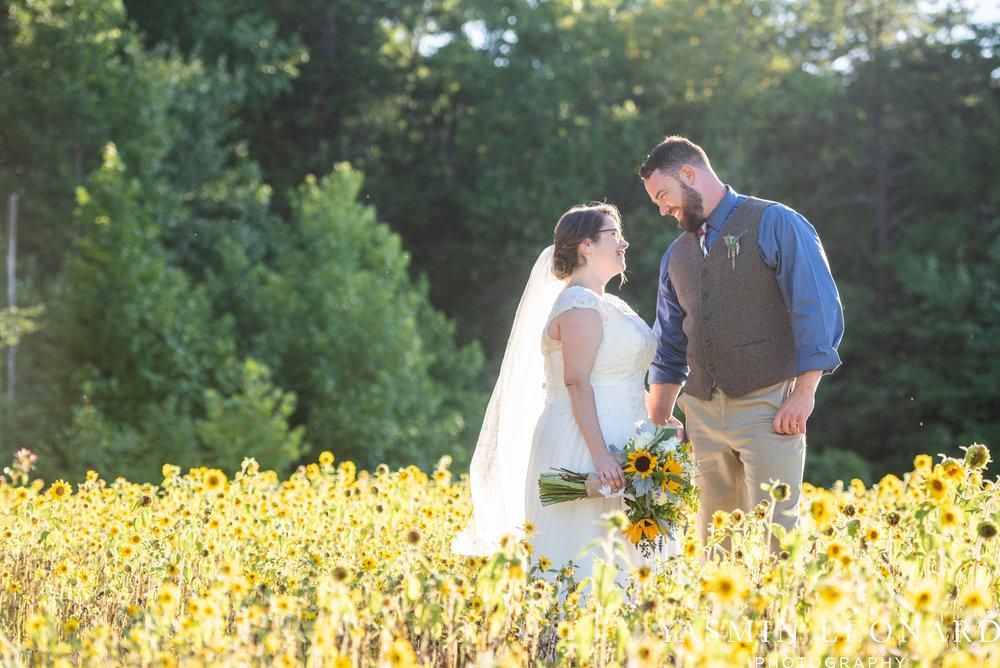 Patty and Matt - Sunflowers and Lemons - NC Wedding Photographer - Yasmin Leonard Photography-60.jpg
