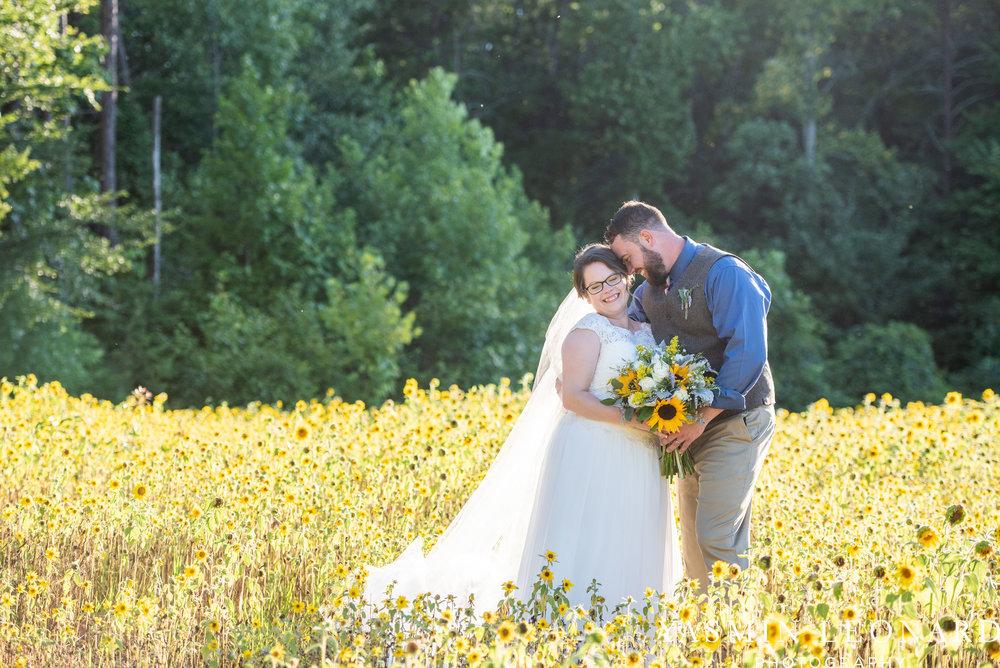 Patty and Matt - Sunflowers and Lemons - NC Wedding Photographer - Yasmin Leonard Photography-64.jpg