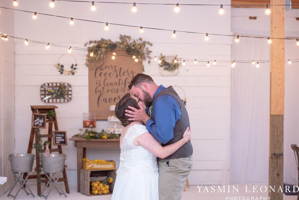 Patty and Matt - Sunflowers and Lemons - NC Wedding Photographer - Yasmin Leonard Photography-100.jpg
