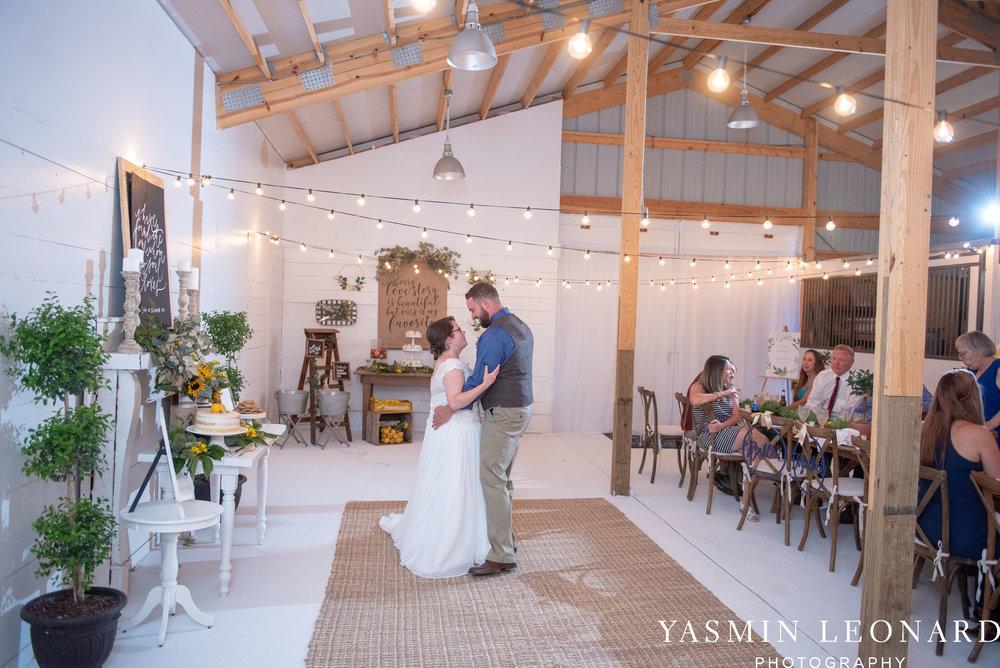 Patty and Matt - Sunflowers and Lemons - NC Wedding Photographer - Yasmin Leonard Photography-101.jpg