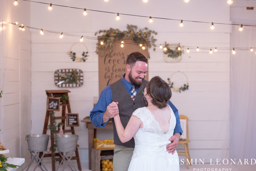 Patty and Matt - Sunflowers and Lemons - NC Wedding Photographer - Yasmin Leonard Photography-102.jpg
