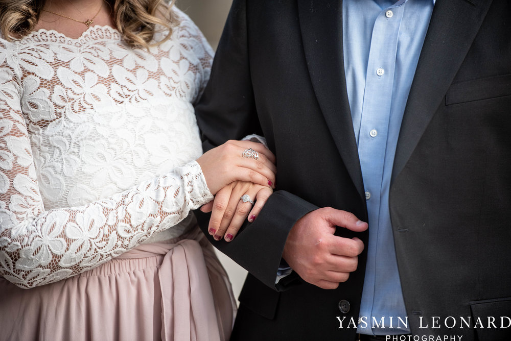 Winston Salem Engagement Session - NC Weddings - What to wear for engagement session - Engagement Session Ideas - Bailey Park - Millinnium Center Weddings - Kimpton Weddings - Yasmin Leonard Photography-4.jpg