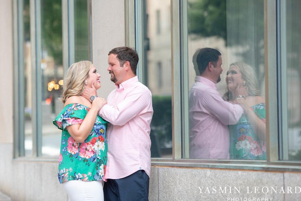 Winston Salem Engagement Session - NC Weddings - What to wear for engagement session - Engagement Session Ideas - Bailey Park - Millinnium Center Weddings - Kimpton Weddings - Yasmin Leonard Photography-11.jpg