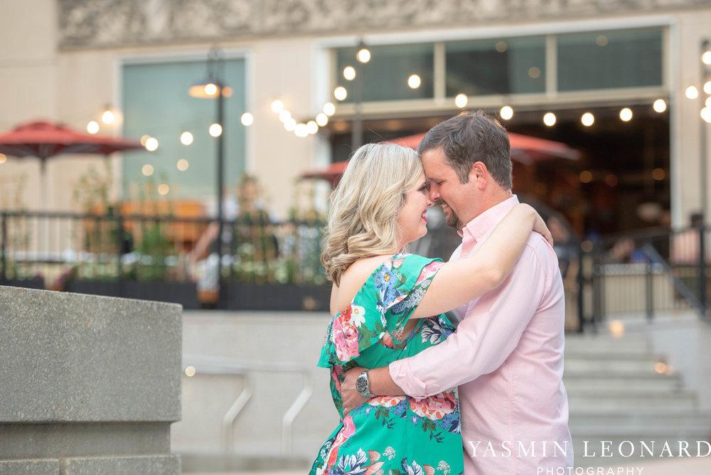 Winston Salem Engagement Session - NC Weddings - What to wear for engagement session - Engagement Session Ideas - Bailey Park - Millinnium Center Weddings - Kimpton Weddings - Yasmin Leonard Photography-19.jpg