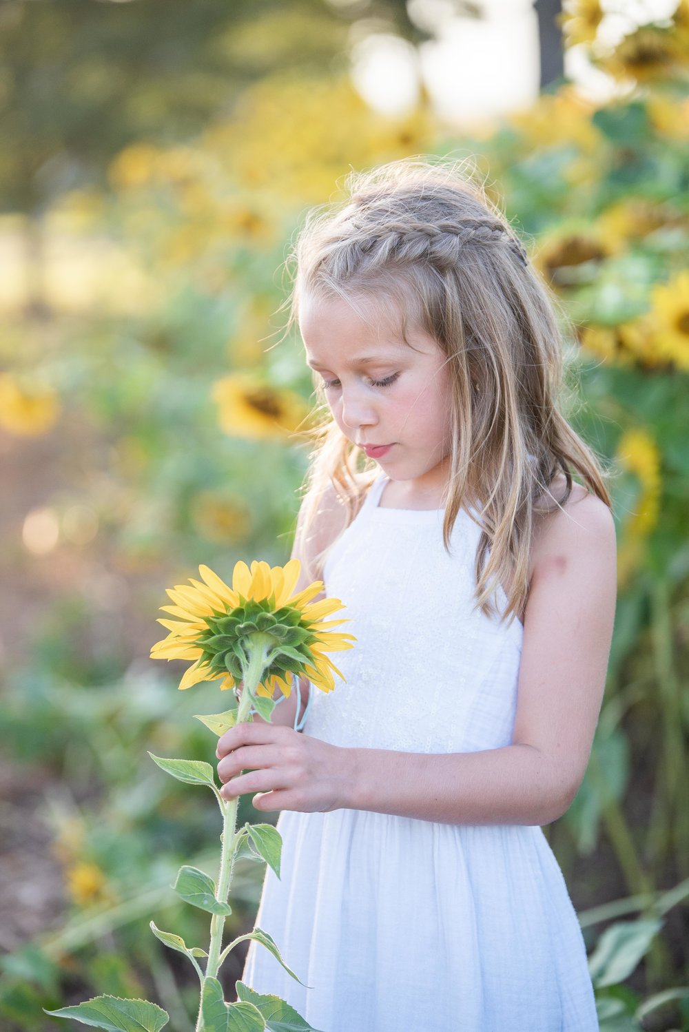 Dogwood Farm - Sunflower Field Photography Session - Sunflower Family Portraits - Fall Family Portraits - Summer Family Portraits - NC Photographer - NC Wedding Photographer - High Point Wedding Photographer -9.jpg