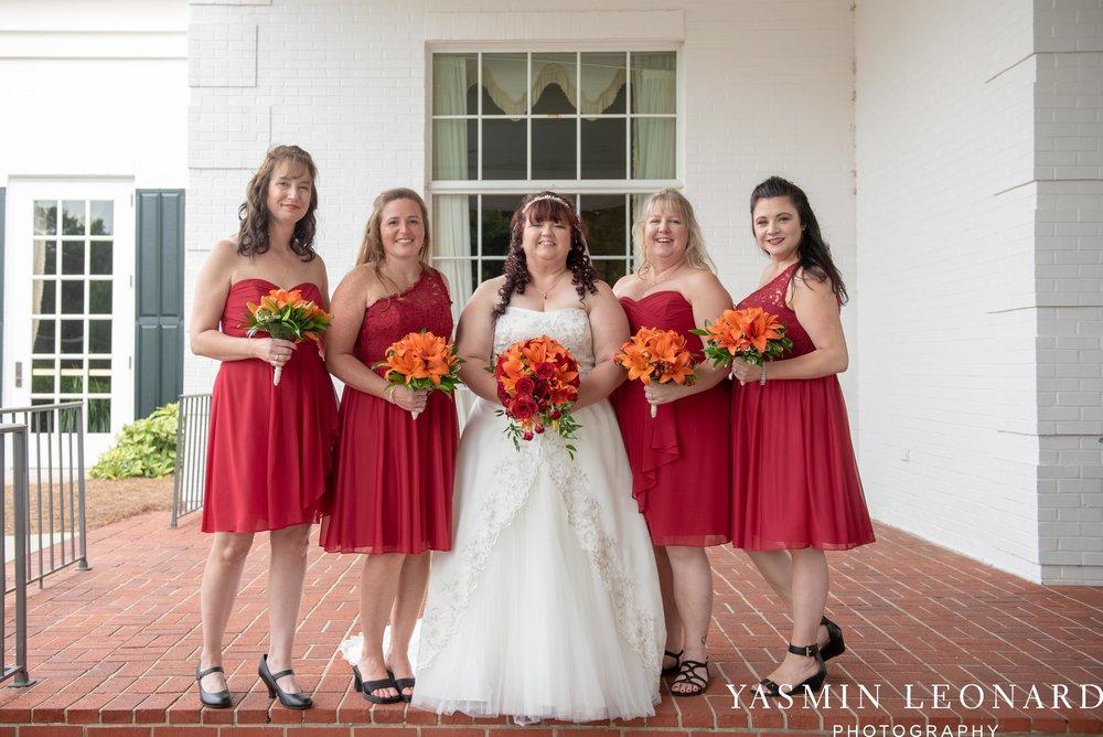 High Point Country Club - Orange and Red Wedding - Country Wedding - Cowboy Hat Wedding - Country Club Wedding - High Point NC - Yasmin Leonard Photography-7.jpg