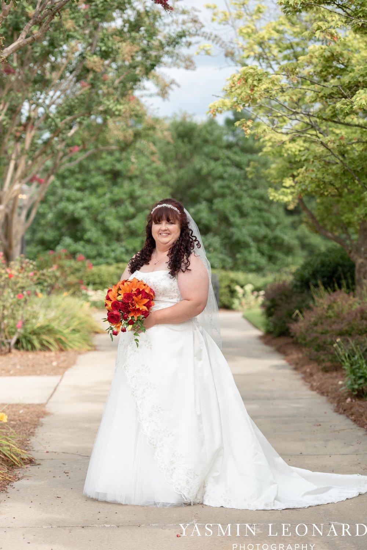 High Point Country Club - Orange and Red Wedding - Country Wedding - Cowboy Hat Wedding - Country Club Wedding - High Point NC - Yasmin Leonard Photography-9.jpg
