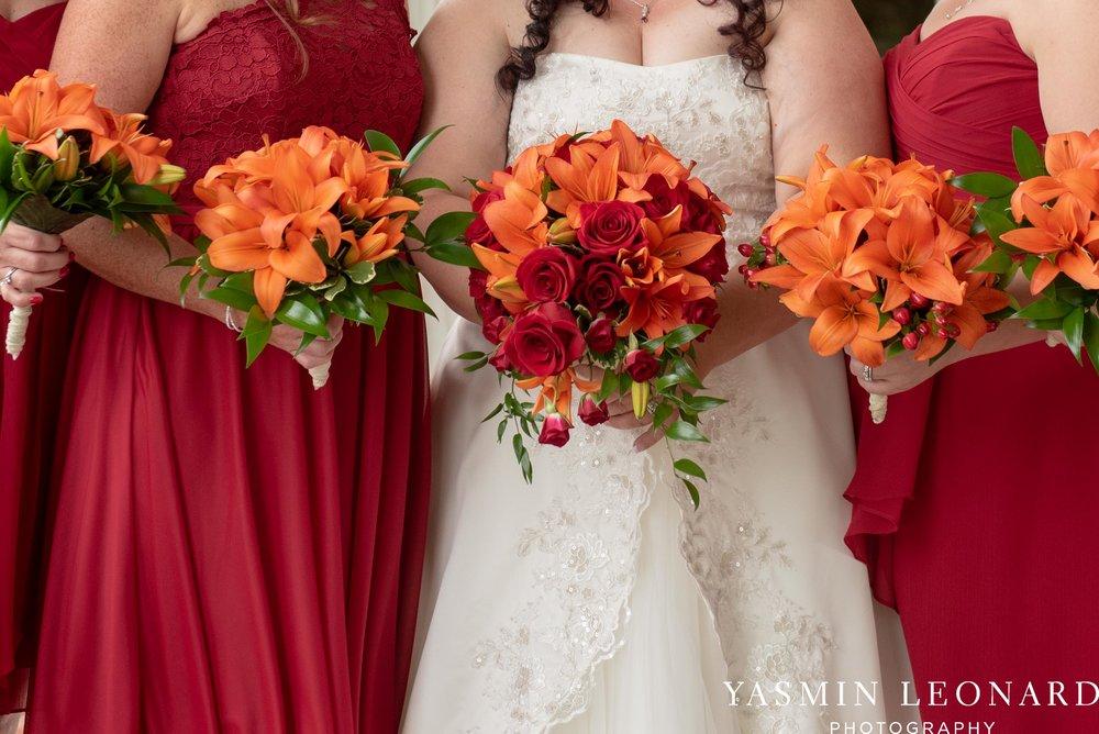 High Point Country Club - Orange and Red Wedding - Country Wedding - Cowboy Hat Wedding - Country Club Wedding - High Point NC - Yasmin Leonard Photography-11.jpg