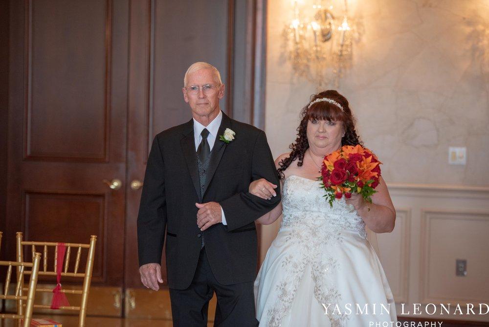 High Point Country Club - Orange and Red Wedding - Country Wedding - Cowboy Hat Wedding - Country Club Wedding - High Point NC - Yasmin Leonard Photography-15.jpg