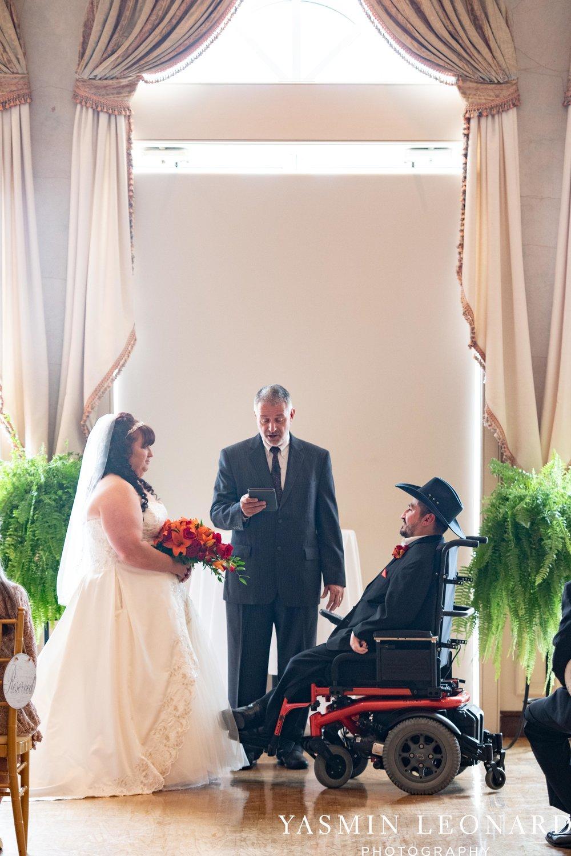 High Point Country Club - Orange and Red Wedding - Country Wedding - Cowboy Hat Wedding - Country Club Wedding - High Point NC - Yasmin Leonard Photography-17.jpg