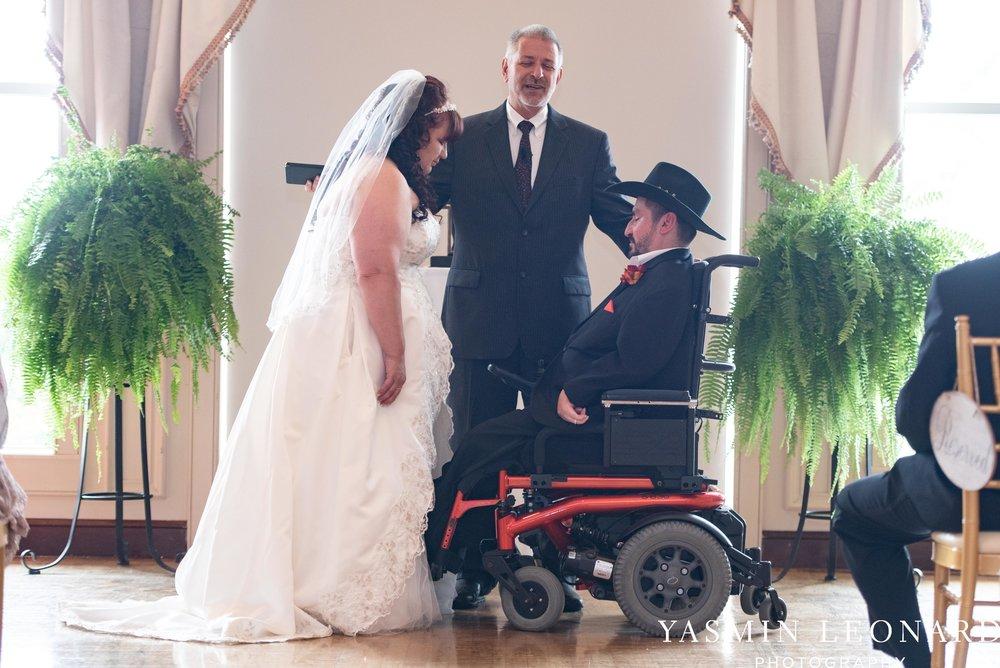 High Point Country Club - Orange and Red Wedding - Country Wedding - Cowboy Hat Wedding - Country Club Wedding - High Point NC - Yasmin Leonard Photography-22.jpg
