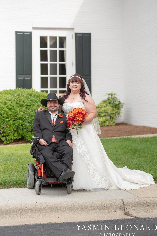 High Point Country Club - Orange and Red Wedding - Country Wedding - Cowboy Hat Wedding - Country Club Wedding - High Point NC - Yasmin Leonard Photography-27.jpg