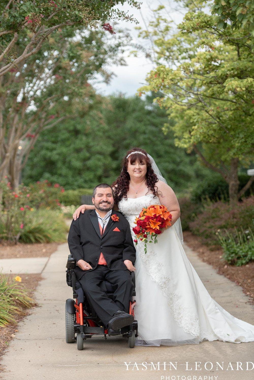 High Point Country Club - Orange and Red Wedding - Country Wedding - Cowboy Hat Wedding - Country Club Wedding - High Point NC - Yasmin Leonard Photography-31.jpg