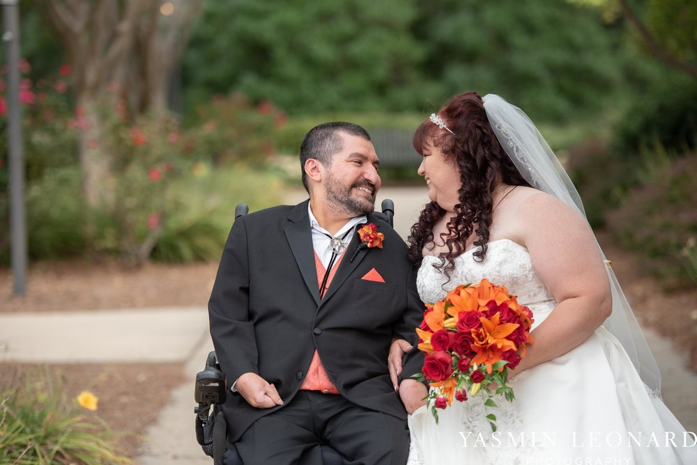High Point Country Club - Orange and Red Wedding - Country Wedding - Cowboy Hat Wedding - Country Club Wedding - High Point NC - Yasmin Leonard Photography-39.jpg