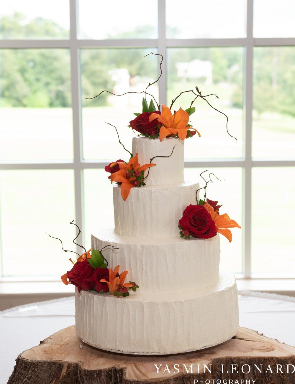 High Point Country Club - Orange and Red Wedding - Country Wedding - Cowboy Hat Wedding - Country Club Wedding - High Point NC - Yasmin Leonard Photography-41.jpg