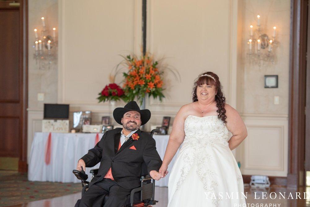 High Point Country Club - Orange and Red Wedding - Country Wedding - Cowboy Hat Wedding - Country Club Wedding - High Point NC - Yasmin Leonard Photography-42.jpg