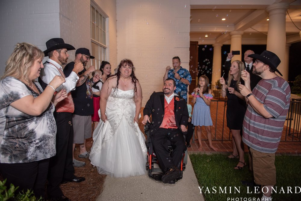 High Point Country Club - Orange and Red Wedding - Country Wedding - Cowboy Hat Wedding - Country Club Wedding - High Point NC - Yasmin Leonard Photography-61.jpg