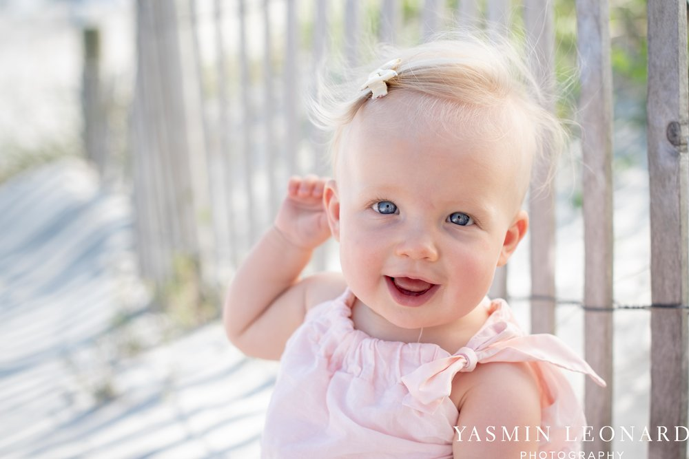 Wrightsville Beach Family Session - NC Photographer - NC Beach Photographer - NC Beach - NC Beach Photos - What to wear Beach - 6 Month Old Beach - Yasmin Leonard Photography-2.jpg