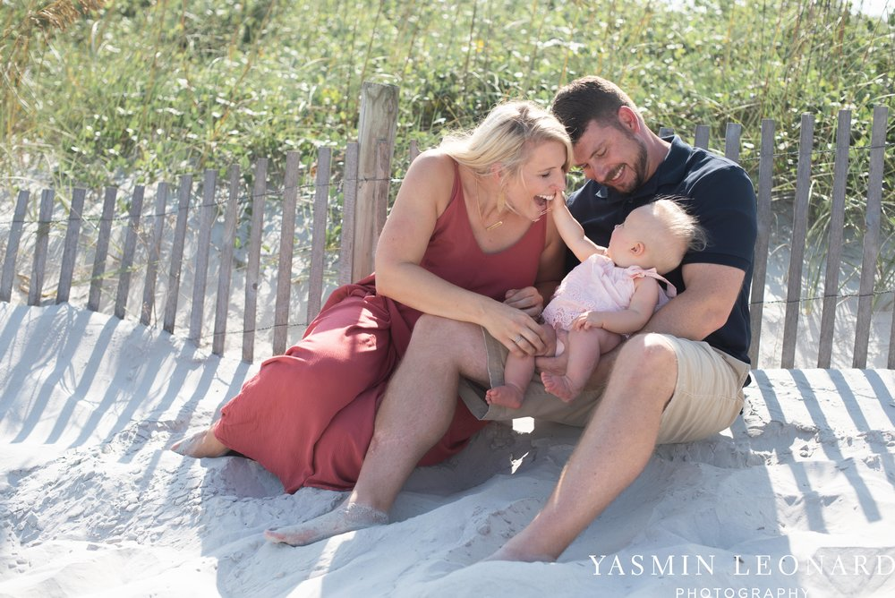 Wrightsville Beach Family Session - NC Photographer - NC Beach Photographer - NC Beach - NC Beach Photos - What to wear Beach - 6 Month Old Beach - Yasmin Leonard Photography-5.jpg
