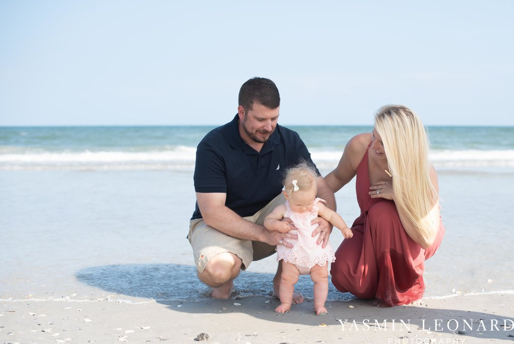 Wrightsville Beach Family Session - NC Photographer - NC Beach Photographer - NC Beach - NC Beach Photos - What to wear Beach - 6 Month Old Beach - Yasmin Leonard Photography-9.jpg