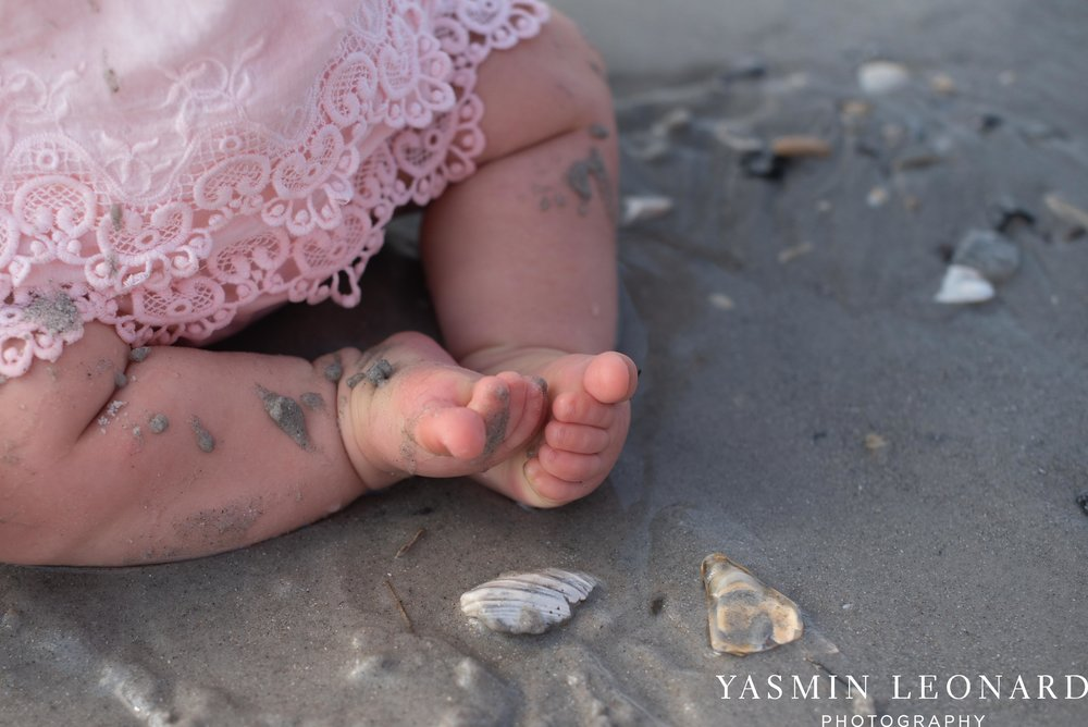 Wrightsville Beach Family Session - NC Photographer - NC Beach Photographer - NC Beach - NC Beach Photos - What to wear Beach - 6 Month Old Beach - Yasmin Leonard Photography-14.jpg