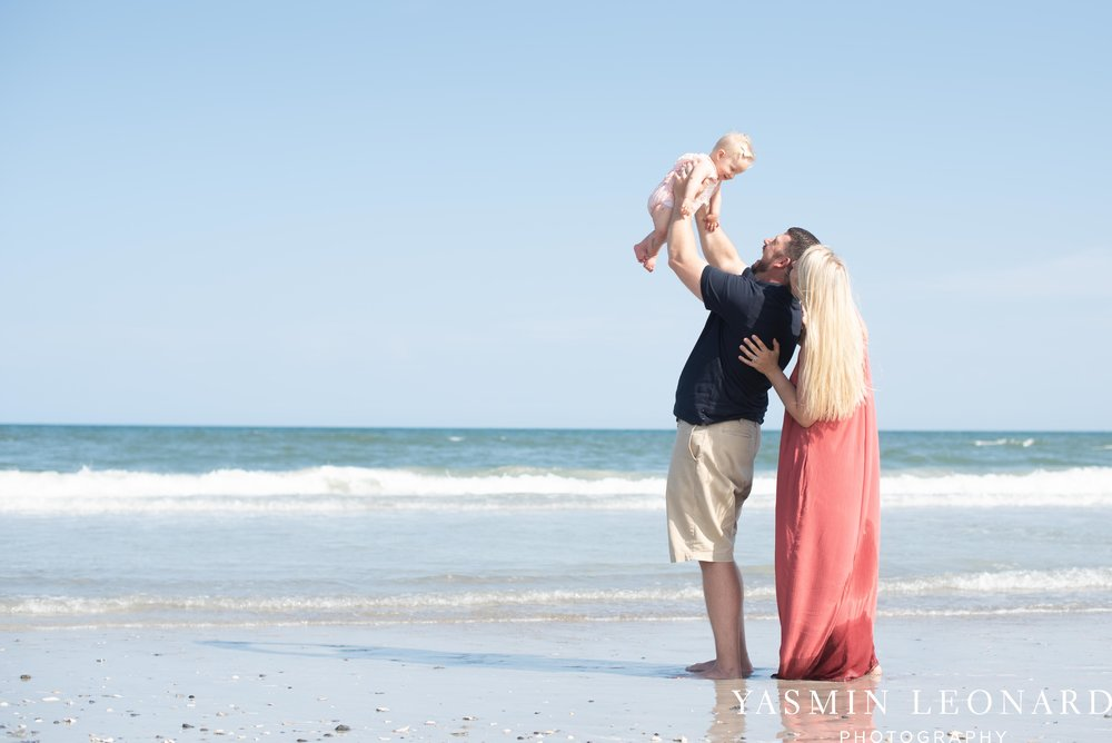 Wrightsville Beach Family Session - NC Photographer - NC Beach Photographer - NC Beach - NC Beach Photos - What to wear Beach - 6 Month Old Beach - Yasmin Leonard Photography-15.jpg