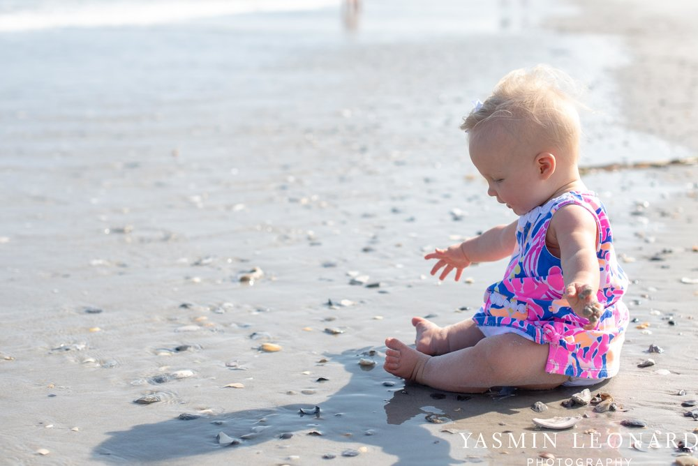 Wrightsville Beach Family Session - NC Photographer - NC Beach Photographer - NC Beach - NC Beach Photos - What to wear Beach - 6 Month Old Beach - Yasmin Leonard Photography-17.jpg