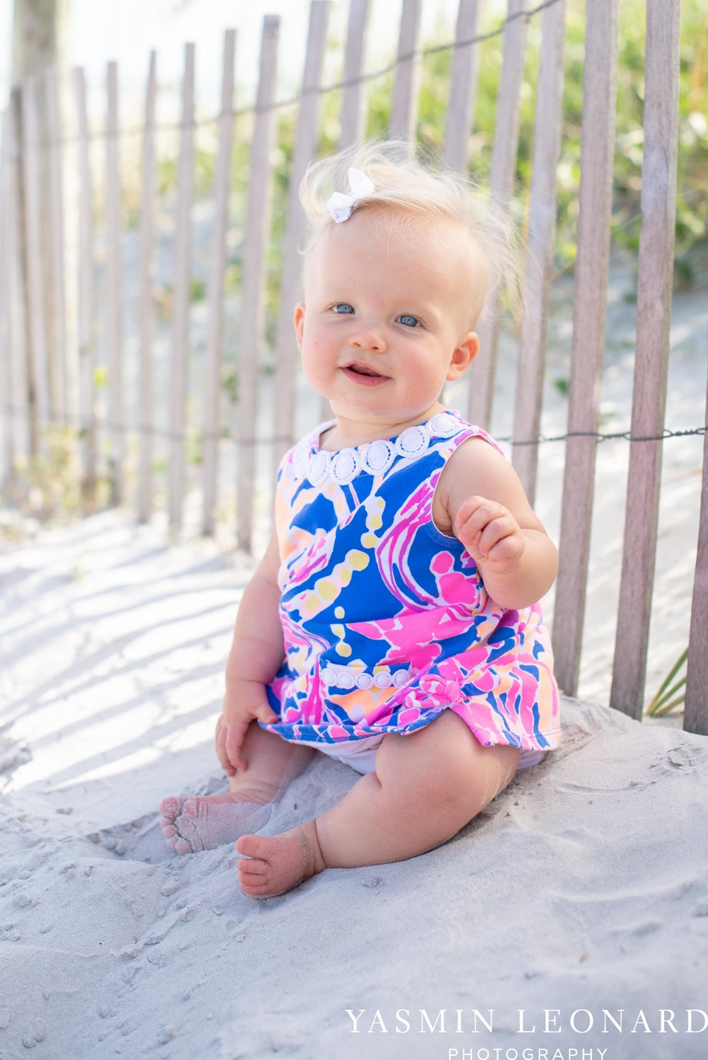 Wrightsville Beach Family Session - NC Photographer - NC Beach Photographer - NC Beach - NC Beach Photos - What to wear Beach - 6 Month Old Beach - Yasmin Leonard Photography-16.jpg