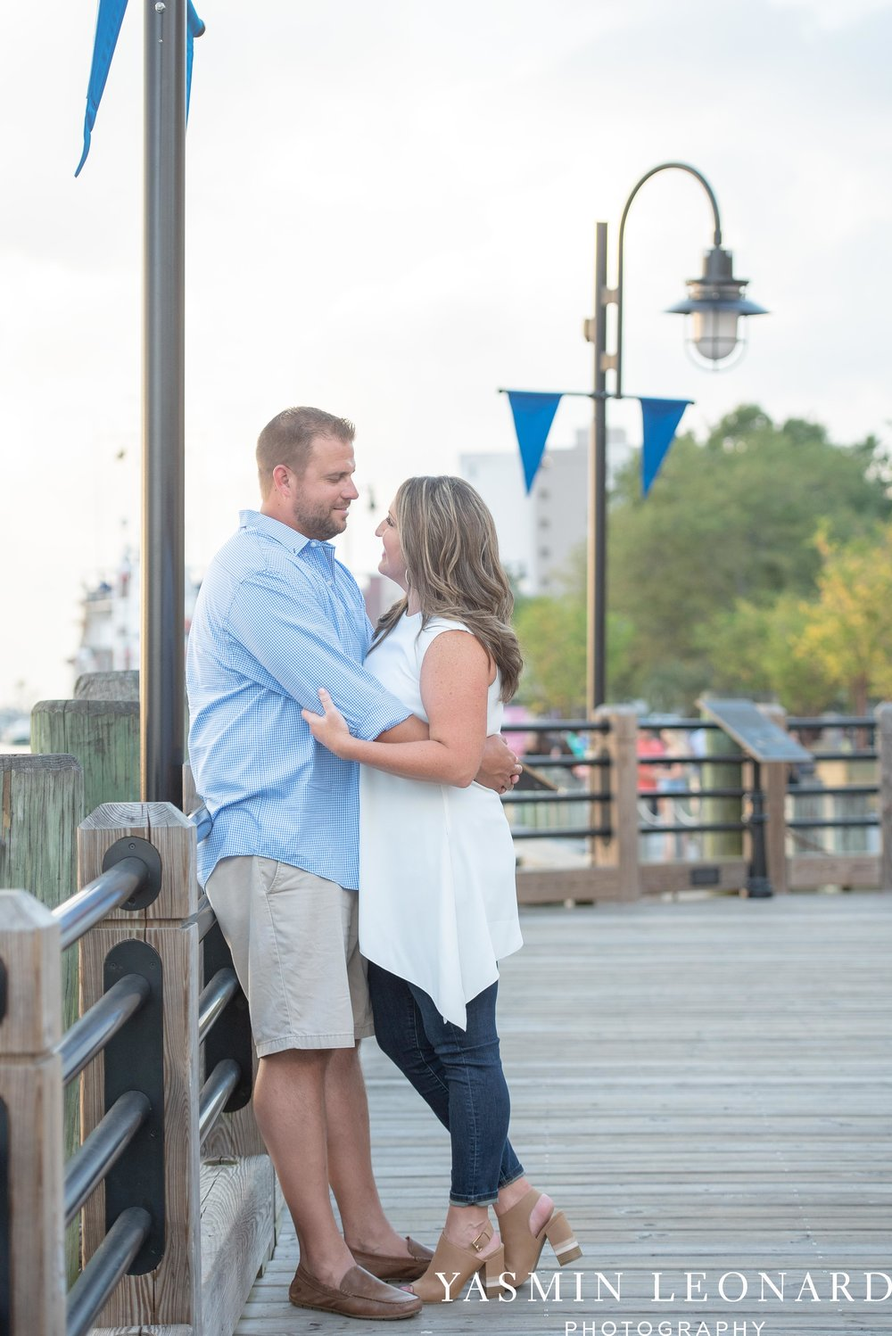 Wrightsville Beach Engagement Session - Wilmington Engagement Session - Downtown Wilmington Engagement Session - NC Weddings - Wilmington NC - Yasmin Leonard Photography-3.jpg