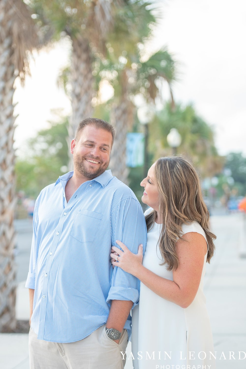 Wrightsville Beach Engagement Session - Wilmington Engagement Session - Downtown Wilmington Engagement Session - NC Weddings - Wilmington NC - Yasmin Leonard Photography-5.jpg