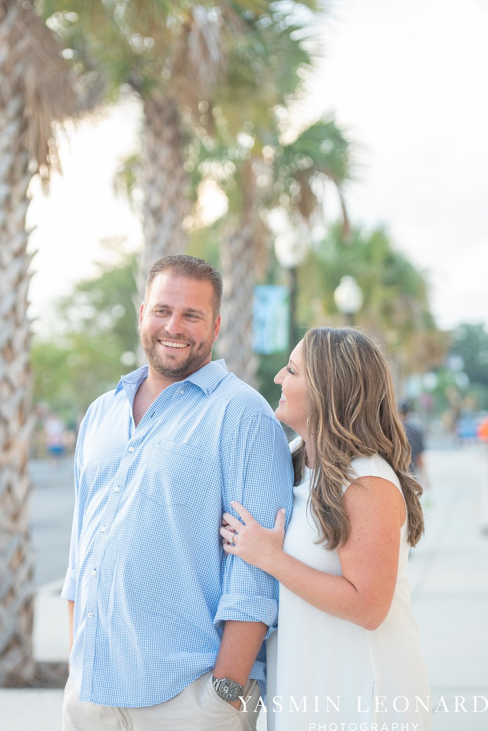 Wrightsville Beach Engagement Session - Wilmington Engagement Session - Downtown Wilmington Engagement Session - NC Weddings - Wilmington NC - Yasmin Leonard Photography-7.jpg