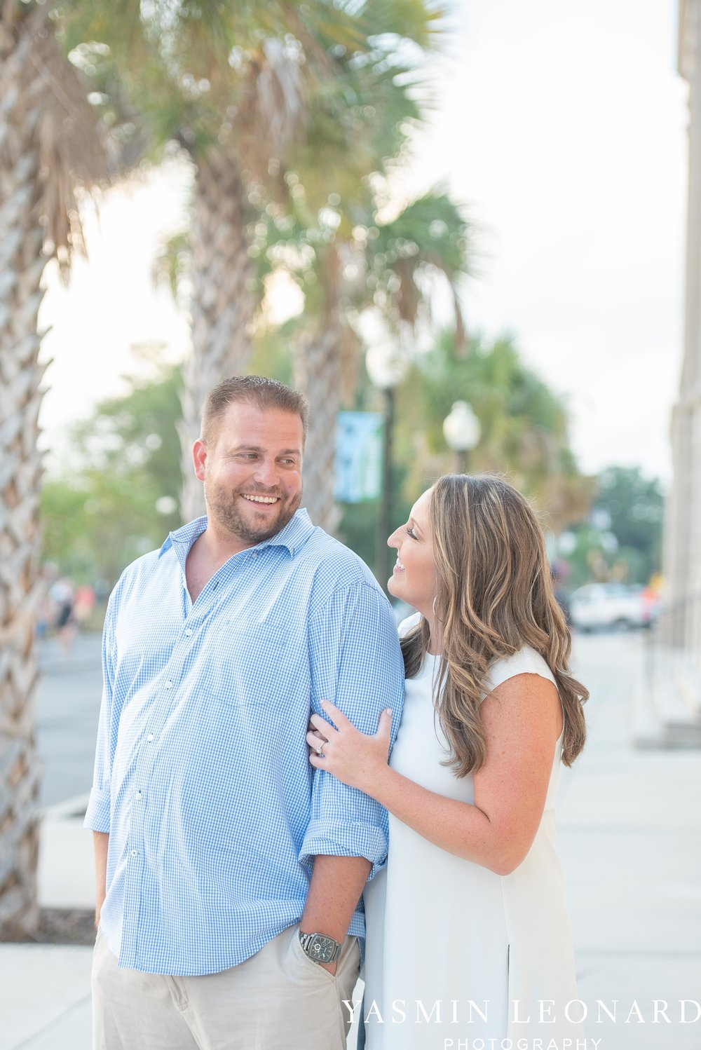 Wrightsville Beach Engagement Session - Wilmington Engagement Session - Downtown Wilmington Engagement Session - NC Weddings - Wilmington NC - Yasmin Leonard Photography-8.jpg