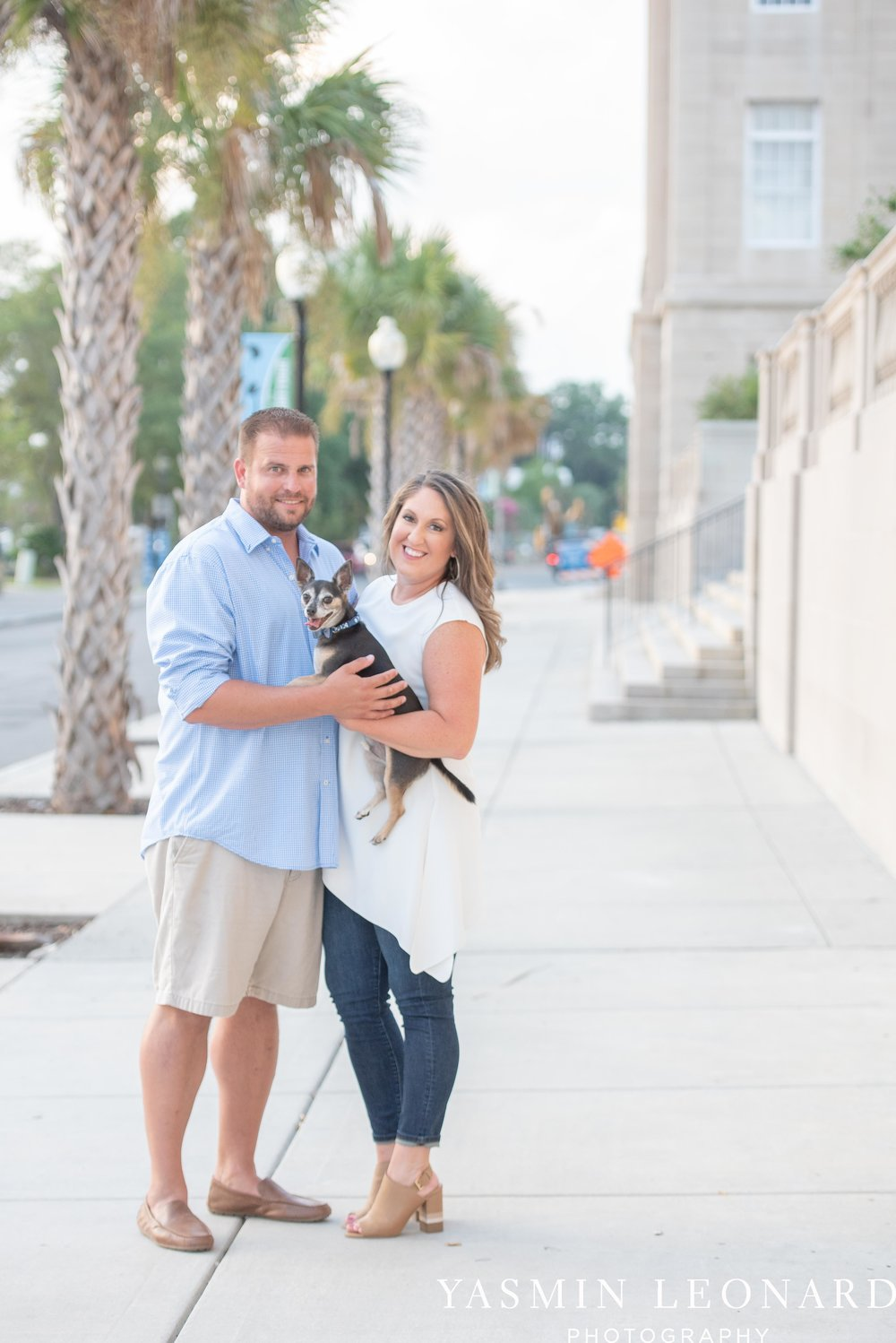 Wrightsville Beach Engagement Session - Wilmington Engagement Session - Downtown Wilmington Engagement Session - NC Weddings - Wilmington NC - Yasmin Leonard Photography-9.jpg