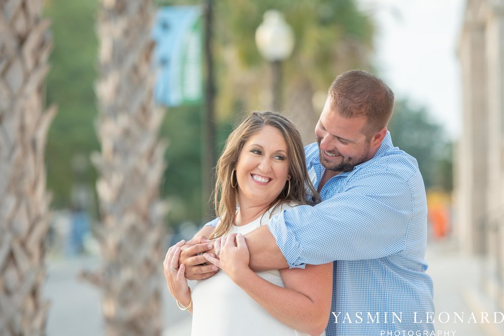 Wrightsville Beach Engagement Session - Wilmington Engagement Session - Downtown Wilmington Engagement Session - NC Weddings - Wilmington NC - Yasmin Leonard Photography-10.jpg