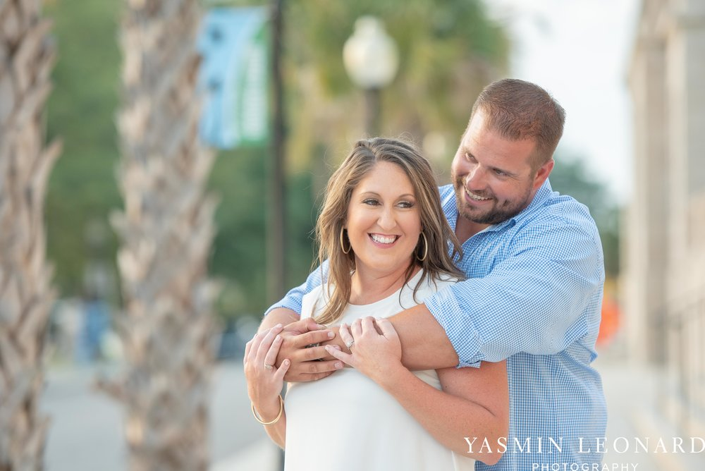 Wrightsville Beach Engagement Session - Wilmington Engagement Session - Downtown Wilmington Engagement Session - NC Weddings - Wilmington NC - Yasmin Leonard Photography-11.jpg
