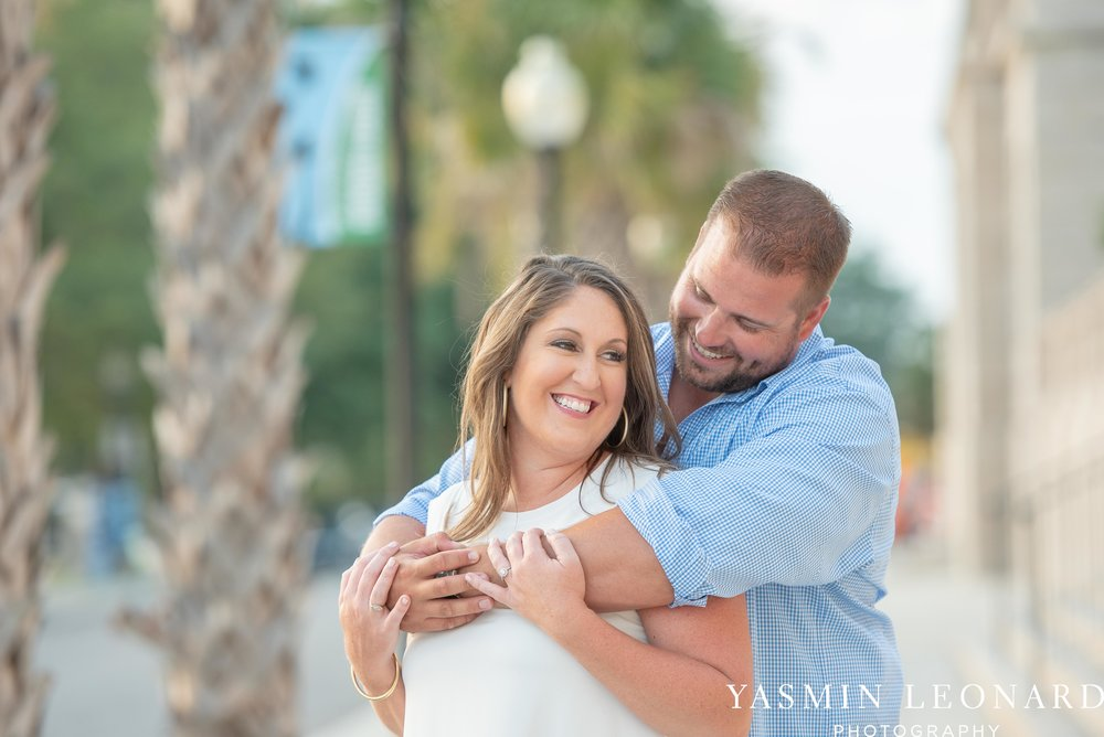 Wrightsville Beach Engagement Session - Wilmington Engagement Session - Downtown Wilmington Engagement Session - NC Weddings - Wilmington NC - Yasmin Leonard Photography-12.jpg