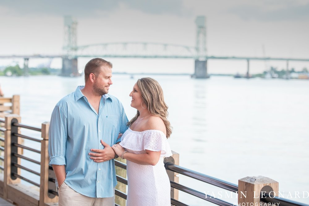 Wrightsville Beach Engagement Session - Wilmington Engagement Session - Downtown Wilmington Engagement Session - NC Weddings - Wilmington NC - Yasmin Leonard Photography-15.jpg
