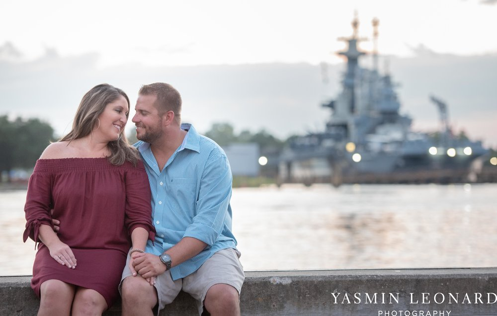 Wrightsville Beach Engagement Session - Wilmington Engagement Session - Downtown Wilmington Engagement Session - NC Weddings - Wilmington NC - Yasmin Leonard Photography-18.jpg