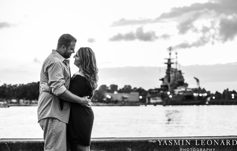 Wrightsville Beach Engagement Session - Wilmington Engagement Session - Downtown Wilmington Engagement Session - NC Weddings - Wilmington NC - Yasmin Leonard Photography-19.jpg