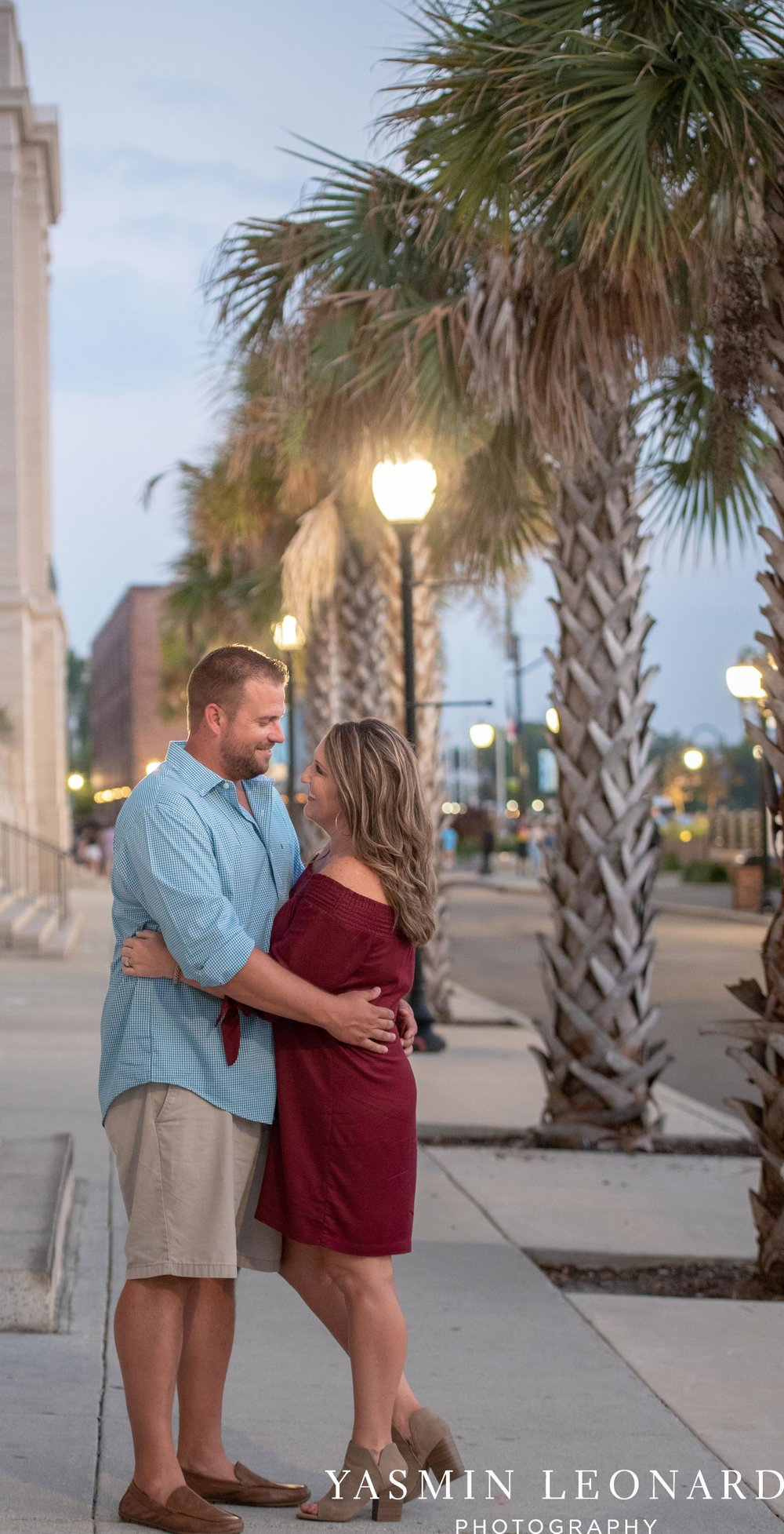 Wrightsville Beach Engagement Session - Wilmington Engagement Session - Downtown Wilmington Engagement Session - NC Weddings - Wilmington NC - Yasmin Leonard Photography-20.jpg